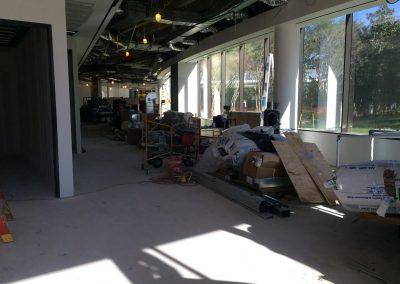 commercial hard floor installation
