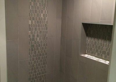 tile floor installation-restroom