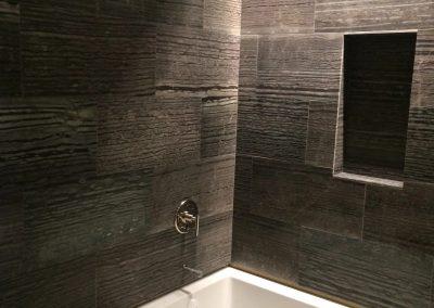 hard floor installation-bathroom