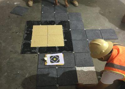 Tile floor installation in Houston TX