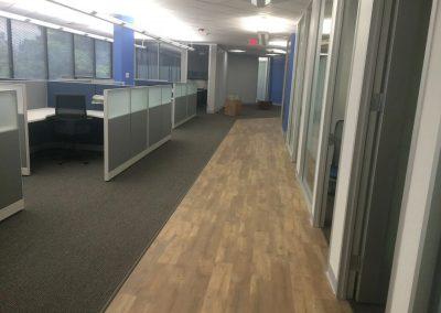 Hardwood Half Flooring Installation