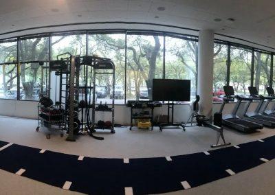 A Large Gym Flooring Installation