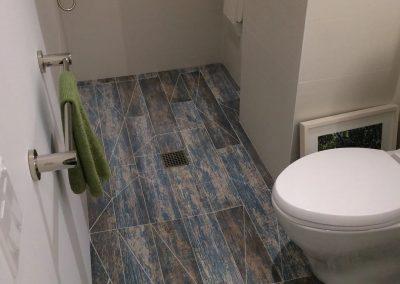 hard floor installation-toilet floor