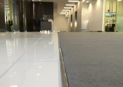 commercial tile floor installation