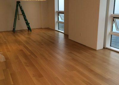 hard floor installation-close up hard wood floor