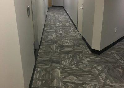 tile floor installation-pathway