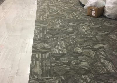 tile floor installation-tile