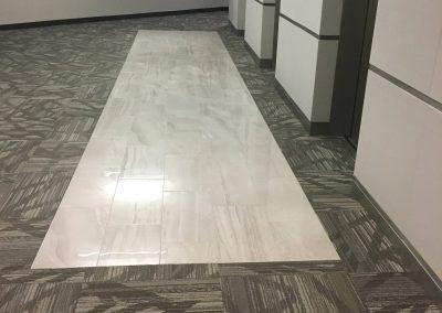 Scott white Tile flooring installation in Houston TX