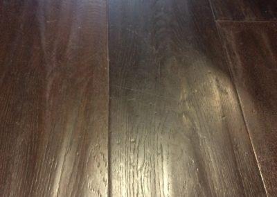 hard floor installation-close up of a wooden floor