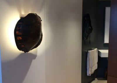 hard floor installation-changing room