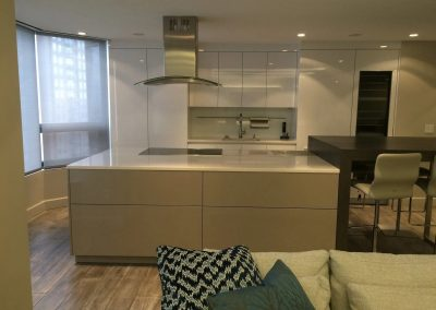 hard floor installation-dining area