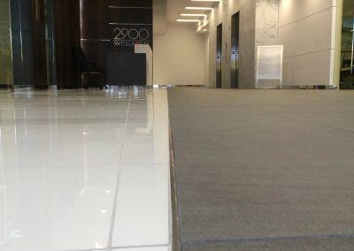 Tile flooring installation in Houston TX