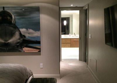 tile floor installation-decorated bedroom