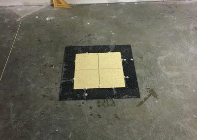 tile floor installation- flooring layer-3