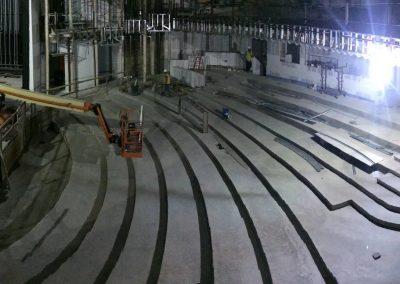 tile floor installation-building construction