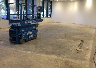 tile floor installation-room construction