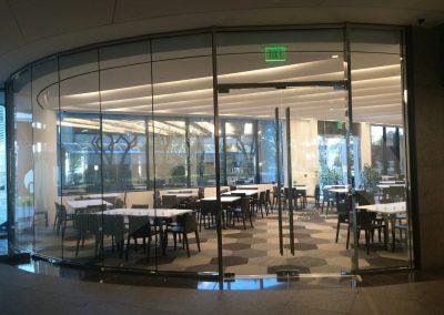 tile floor installation-elegant restaurant