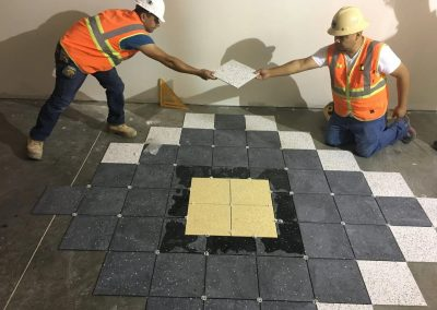 tile floor installation-flooring layer-4