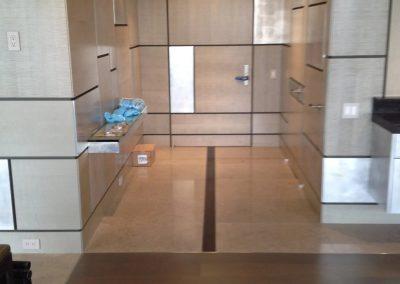 tile floor installation-view of a kitchen floor