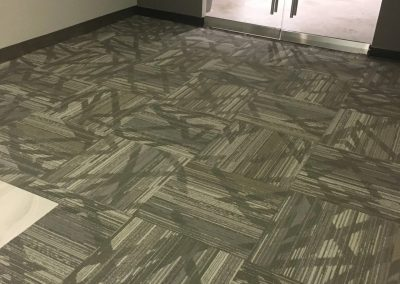Hard floor installation